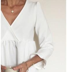 EUGENIE Bluse, Kleid - Atelier Scämmit