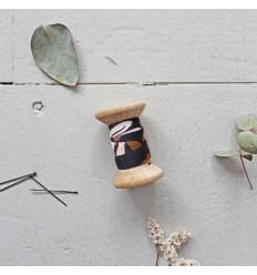 Schrägband Posie Blue - Atelier Brunette