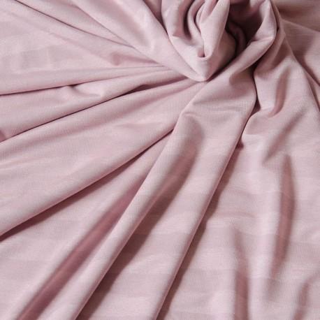 Viscose Jersey Stripes, Pink