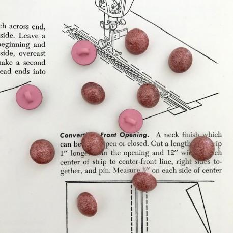 Round Ball Button - Copper
