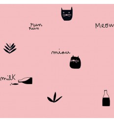 Jersey Pink Milk Meow