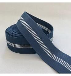 Elastic waistband - Navy, Silver