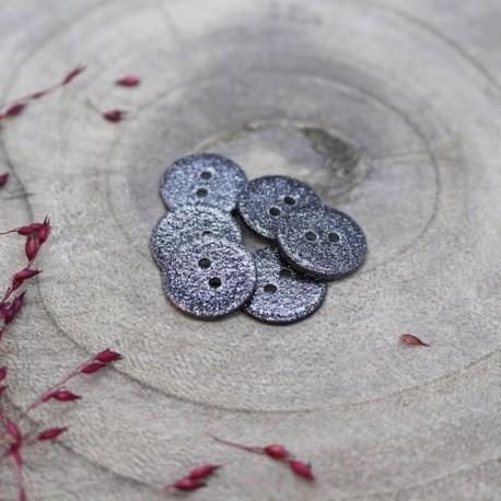 Glitter button Atelier Brunette - Night