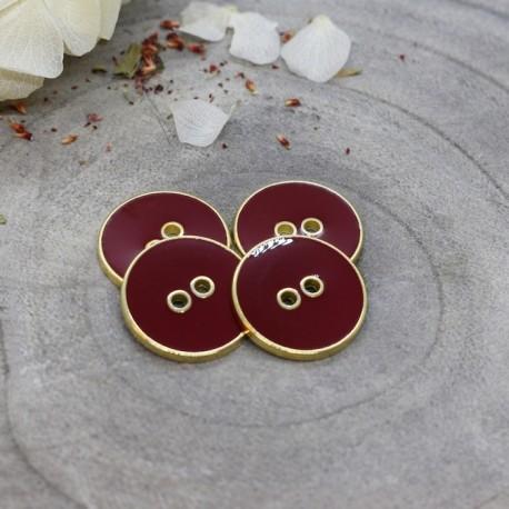 Joy Buttons Atelier Brunette - Amarante