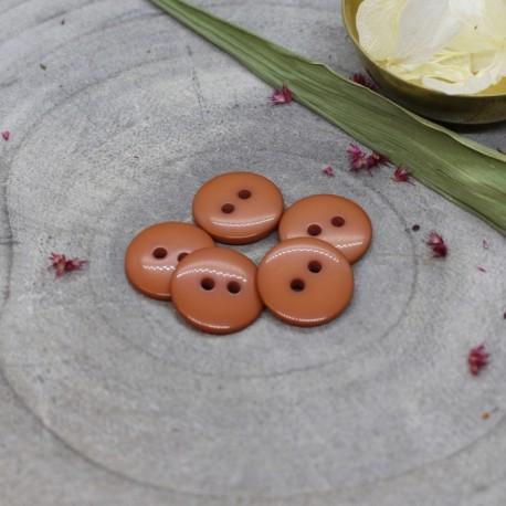 Classic Shine Button - Chestnut
