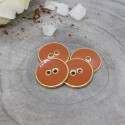 Bouton Joy Atelier Brunette - Chestnut