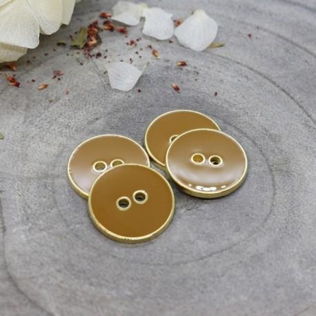 Joy Buttons Atelier Brunette - Ochre