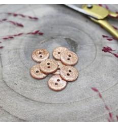 Glitter button Atelier Brunette - Powder