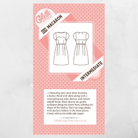 Macaron dress - Colette Patterns
