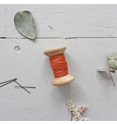 Schrägband Krepp Chestnut - Atelier Brunette
