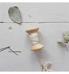 Schrägband Krepp Off White - Atelier Brunette
