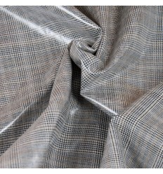 REMNANT Coated Prince of Wales, Glen plaid