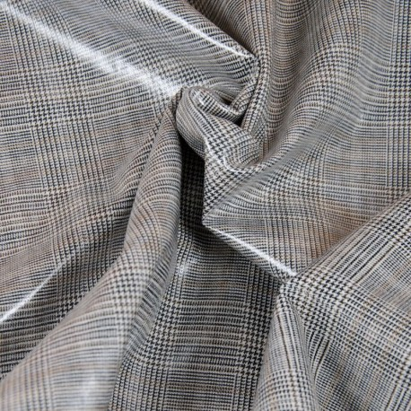 Coated Prince of Wales, Glen plaid