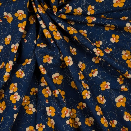 Viscose Blue, Flowers