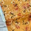 Viscose Mustard, Flowers
