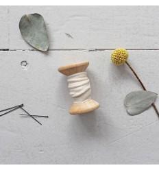 Passepoils Crêpe Off White - Atelier Brunette
