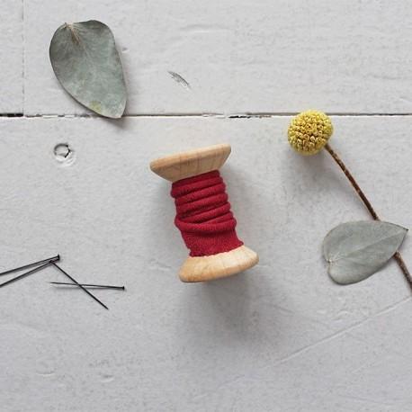 Paspel Krepp Amarante - Atelier Brunette