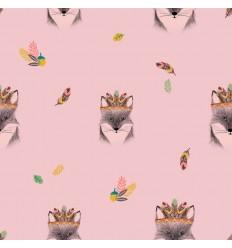 Popeline Fox Pink - Katia Fabrics