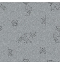 Sweat Origami Racoons