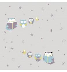 Jersey Reading Owls - Katia Fabrics