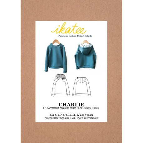 CHARLIE SWEATSHIRT - IKATEE