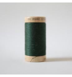 Organic Cotton Thread - Dark Green