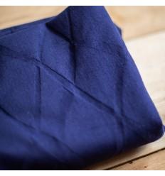 Organic Wave Jacquard - Blue