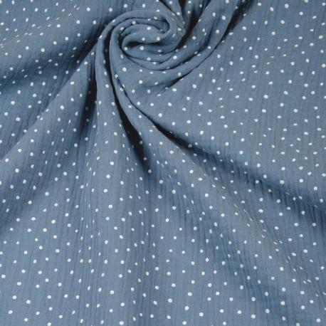 Double Gauze spots - Blue