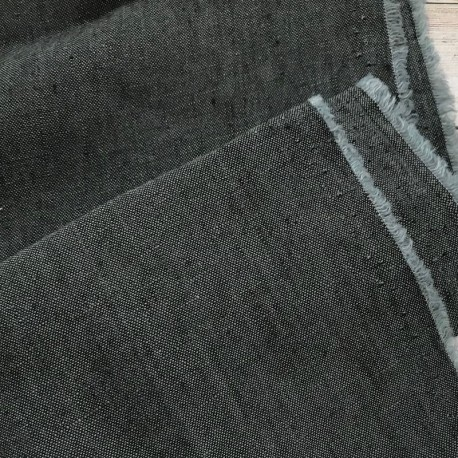 Formentera Linen - Charcoal