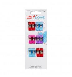 Stoff Clips 2.6cm - Prym Love