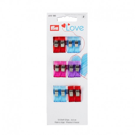 Sewing clips 2.6cm - Prym Love