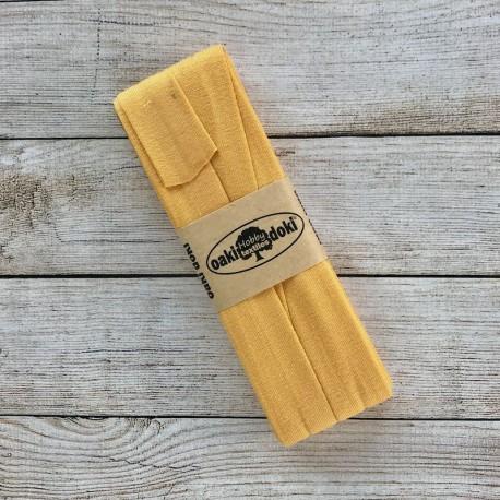Jersey bias binding - Yellow