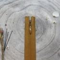 Invisible Zip Ochre - Atelier Brunette