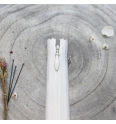 Zip Nahtverdeckt Off-White - Atelier Brunette