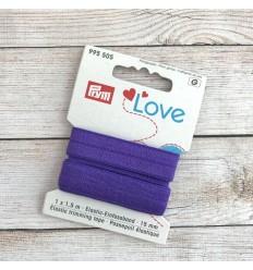 Elastic trimming tape - Purple