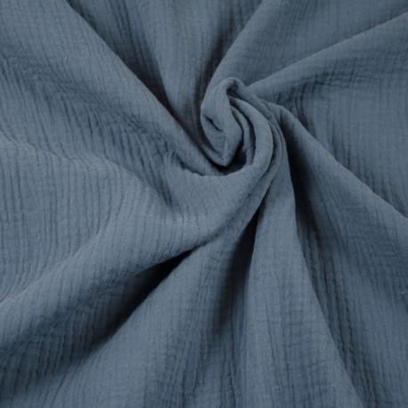 Double Gauze - Blue gray