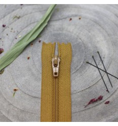 Zip 20cm Mustard- Atelier Brunette
