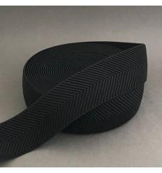 Herringbone elastic - Black