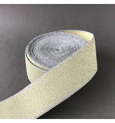 Lemon Elastic, silver stripes