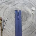 Zip Nahtverdeckt Cobalt - Atelier Brunette
