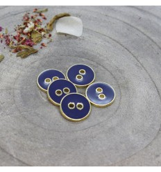 Joy Buttons Atelier Brunette - Cobalt