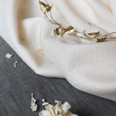 Dobby Off-White - Atelier Brunette
