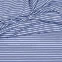 Jersey blaue, weiße Streifen
