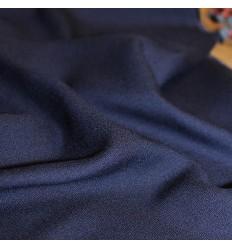 Crêpe de Viscose Bleu Atlantique - Eglantine & Zoé
