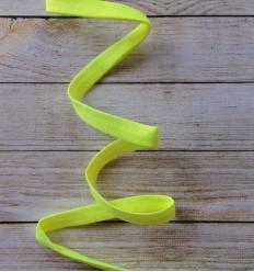 Schrägbänd Fluo Gelb