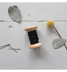 Paspel Krepp Black - Atelier Brunette
