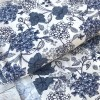 Jersey blaue Blumen