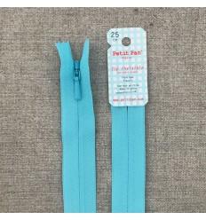 Invisible Zip Azure blue - Petit Pan