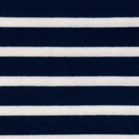 Striped Interlock, navy - C. Pauli