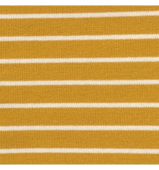 Striped Interlock, mustard - C. Pauli